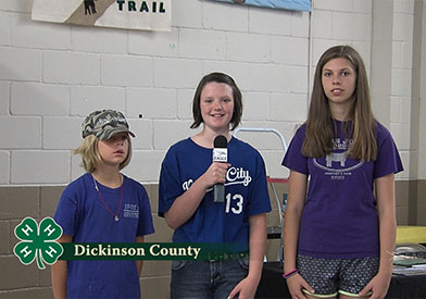 4-H Interviews: Dickinson County KS #2