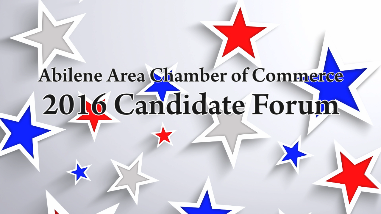 Abilene Candidate Forum (09/20/16)