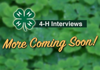 4-H Interviews