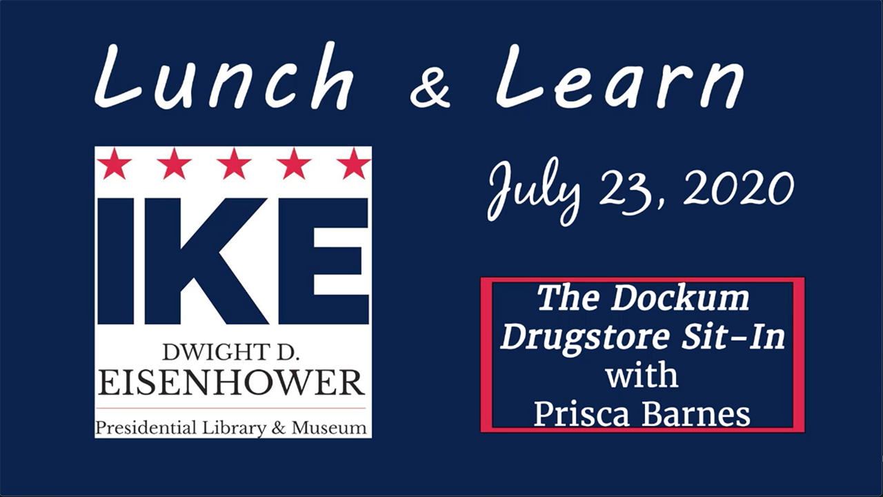 Eisenhower Presidential Library & Museum: The Dockum Drugstore Sit-In